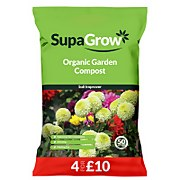 SupaGrow Organic Garden Compost 50L