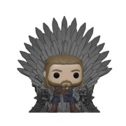 Game of Thrones Ned Stark auf Thron Funko Pop! Deluxe