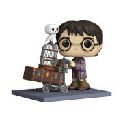 Harry Potter Anniversary Harry With Trolley Funko Pop! Deluxe