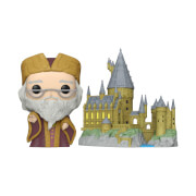 Harry Potter Anniversary Dumbledore with Hogwarts Funko Pop! Town