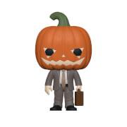 Figurine Pop! Dwight avec citrouille - The Office