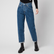 Calvin Klein Jeans Women's Baggy Jeans - Denim Medium