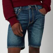 Superdry Men's Tapered Denim Shorts - Abernathy Dark Blue