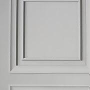 Wood Panel Grey Wallpaper