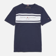 Tommy Hilfiger Boys' Essential Blocking T-Shirt - Twilight Navy