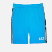 EA7 Boys' Train Logo Bermuda Shorts - Diva Blue