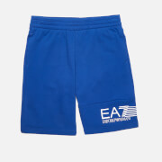 EA7 Boys' Train 7 Lines Bermuda Shorts - Mazarine