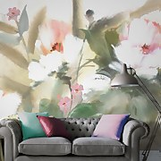 Expressive Floral Lush Wall Mural