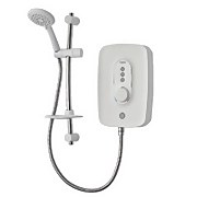 Triton Opal 4 9.5kW Electric Shower - White