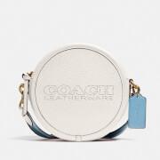 Coach Women's Colorblock Kia Circle Bag - Chalk Multi