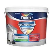Dulux Weathershield Smooth Masonry Paint - Pale Slate - 10L