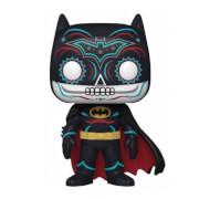 DC Comics Dia De Los DC Batman Glow-In-The-Dark EXC Funko Pop! Vinyl
