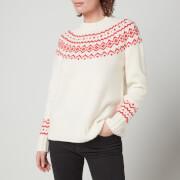 Barbour Women's Driftwood Knitted Jumper - Multi