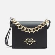Love Moschino Women's Chain Cross Body Bag - Black