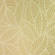 Arthouse Leaf Lines Ochre Wallpaper