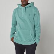 Polo Ralph Lauren Men's Garment Dyed Fleece Hoodie - Seafoam