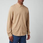 Polo Ralph Lauren Men's Featherweight Mesh Shirt - Luxury Tan Heather
