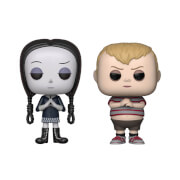 The Addams Family Wednesday & Pugsley Funko Pop! Bundle