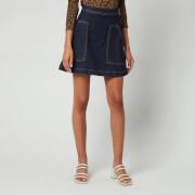 Ted Baker Women's Asantii Denim Mini Skirt - Midnight