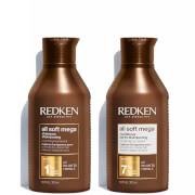 Redken All Soft Mega Shampoo and Conditioner Bundle