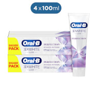 Oral-B Tandpasta 3D White Luxe Perfection 4x100 ml