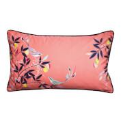 Sara Miller Bird Cushion - Coral - 30x50cm