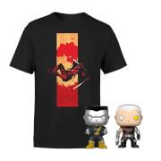 Marvel X-Men Deadpool Cable & Colossus Funko Pop! Bundle