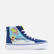 Vans X SpongeBob SquarePants Kids' SK8 -Hi Zip Trainers - Multi