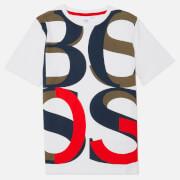 Hugo Boss Kids Large Logo T-Shirt - White