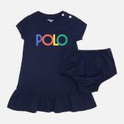 Polo Ralph Lauren Babys' Flounce Dress - French Navy