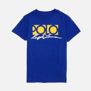 Polo Ralph Lauren Boys' Short Sleeve Logo T-Shirt - Active Royal