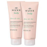 Nuxe Body Revitalizing Shower Gel Duo Tea Dream