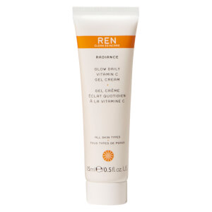 REN Clean Skincare Glow Daily Vitamin C Gel Cream 15ml (Free Gift)