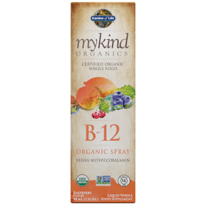 mykind Organics Vitamin B12 Spray - Raspberry - 58ml