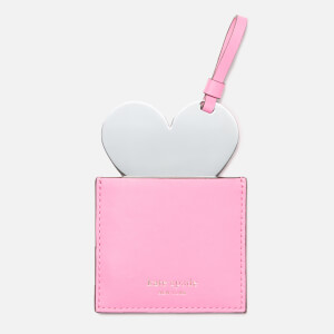 Kate Spade New York Women's Heart Pocket Mirror - Hibiscus Tea (Free Gift)