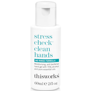 this works Stress Check Clean Hands Gel 60ml