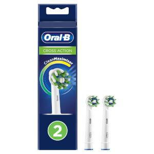 CrossAction Opzetborstels, Verpakking 2-Pak