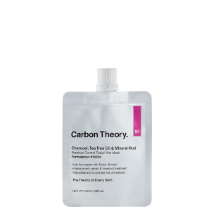 Carbon Theory Mineral Mud Facial Wet Mask 50ml