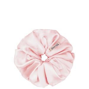 SHHH Silk Pink Silk Scrunchie