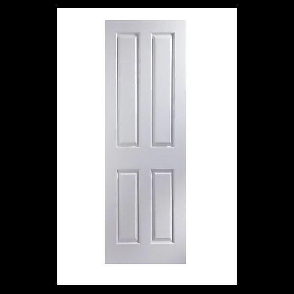 London Primed Woodgrain Internal Door - 686mm Wide
