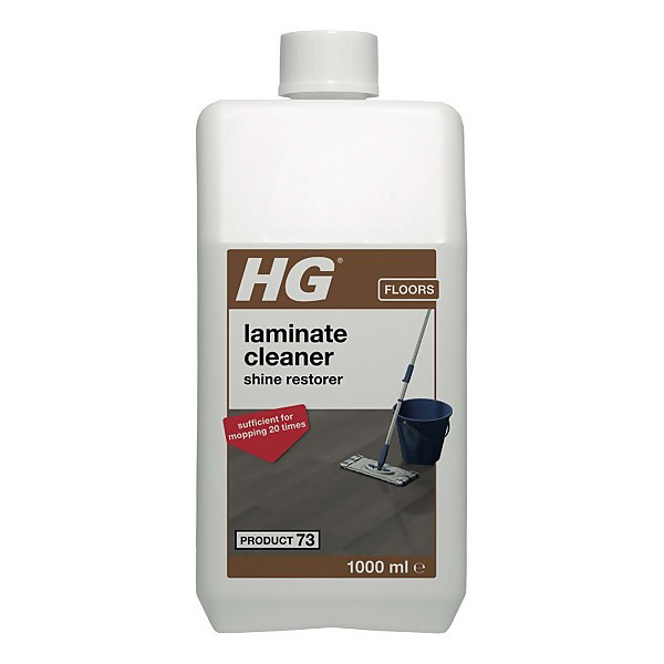 HG Laminate Gloss Cleaner (Wash & Shine) (product 73) 1L
