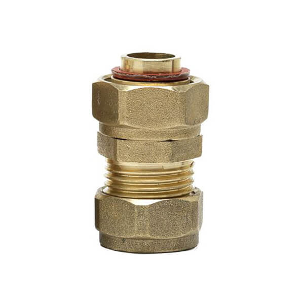 Compression Tap Connector - Brass - 15mm - 0.75in