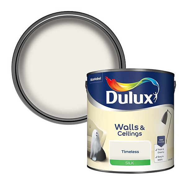 Dulux Timeless - Silk Emulsion Paint - 2.5L