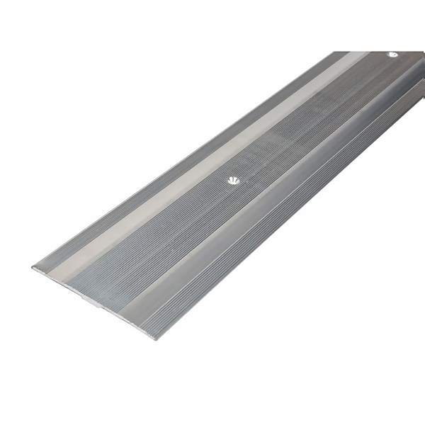 Extra Wide Cover Strip Carpet Edge - Silver 1800mm