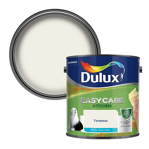 Dulux Easycare Kitchen Timeless - Matt Emulsion Paint - 2.5L
