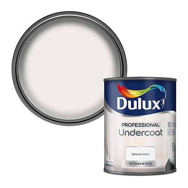 Dulux Pure Brilliant White - Undercoat Paint - 750ml