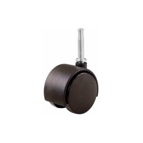 Durable Castors with Peg & Socket Fitting - 51mm - 2 Pack