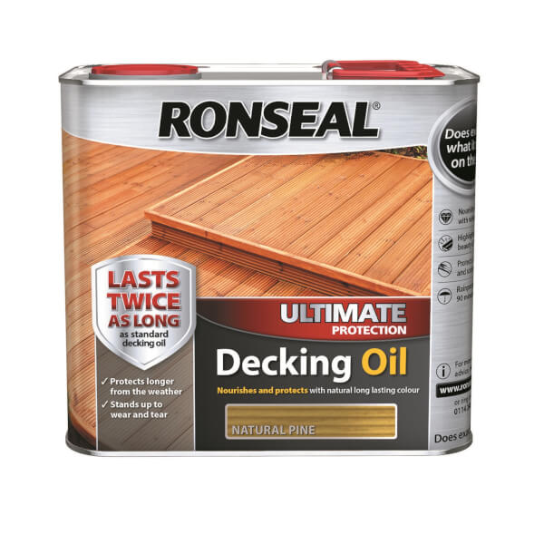 RONSEAL ULT PROTECTION DECKING OIL N/PIN