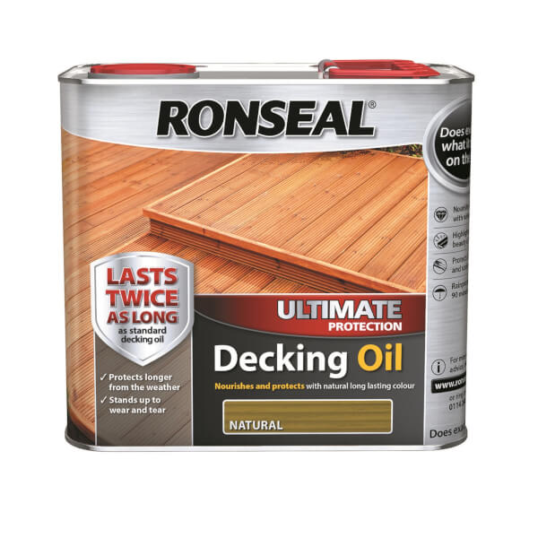 RONSEAL ULT PROTECTION DECKING OIL NATUR