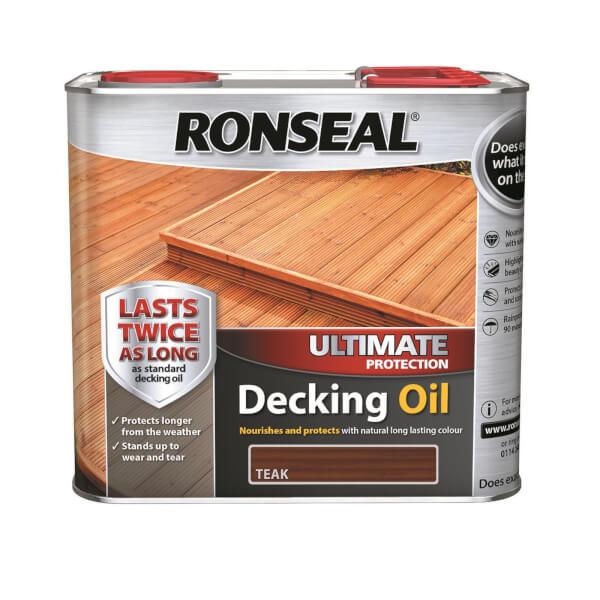 RONSEAL ULT PROTECTION DECKING OIL TEAK